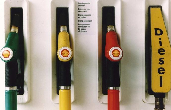 Afbeelding van een benzinepomp
