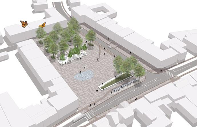 foto: Nieuw Marktplein Wijnegem
