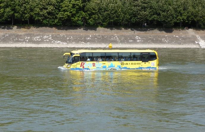 Foto van een waterbus